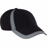 Promotional Cotton Sports Visors Reflect Cap
