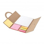 Recycled sticky memo pad & Flag Set