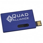 Slide Card Micro USB Drive - 1GB