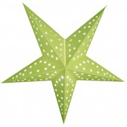 Promotional 24inch Solid Decoration Paper Star Lantern