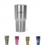 30oz Stainless Steel Vacuum Insulated Auto Tumbler