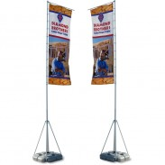 Summit Outdoor Banner Flag - Double Sided Graphics