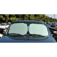 Customized Fold Silver Sun Shade Square Extralarge