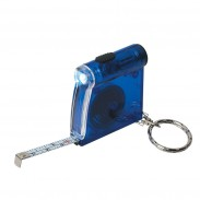Tape Measure LED Flashlight Key Chain