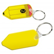 Vinyl Pencil Key Chain