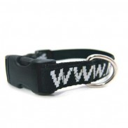 Polyester Pet Collar with Heavy Clips
