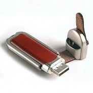 Gift Premium Leather USB Disk 2GB