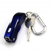 Multi-functional 4-in-1 Bottle Opener + Knife + Ballpoint Pen + LED Light Set with Hanging Ring