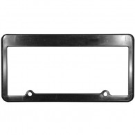 Promos Double Hole Decoration CAR License Plate with LOGO