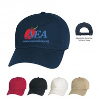 Promotional Blue Blend: Cotton/Polyester Hit-Dry Mesh Back  Visors Cap