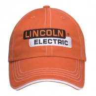 Promotional Brushed cotton Orange Outdoor Visors Accent Cap