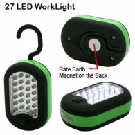 Compact 24 LED Work Light and 3 LED Flash light