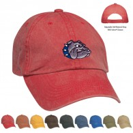 Promotional Red Cotton Twill Baseball Sports Standard Washed Cap