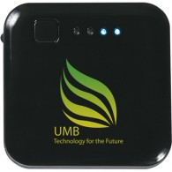 Promos ABS Square Designer Power Bank with DIY LOGO