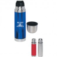 Double Wall Stainless Steel Travel Thermos (16 Oz.)