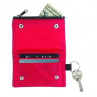 Folding Wallet With Key Ring
