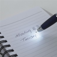 High Quality Illuminate Pen With LED Light Advertising