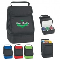 Multifunctional Dual Compartment Lunch Bag