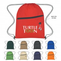 Non-Woven Sports Pack With Front Zipper