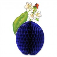 Honeycomb Ball Paper Decoration-Tissue Plum