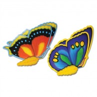Honeycomb Ball Paper Decoration-Tissue Butterflies (2/pkg)