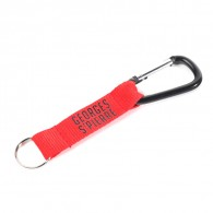 Polyester Key Fob with Carabiner