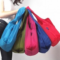 Polyester Portable Shopping Nylon Folding Bag