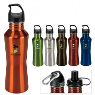 shapely stainless steel bottle