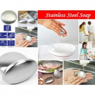 stainless steel soap round shape