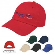 Customized Black-Light Khaki Visors Sports Brushed Cotton Twill Cap