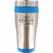 16oz. double wall stainless steel travel mug