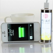 Promotional Sucking Disk Power Bank with Light with DIY LOGO 2000mA