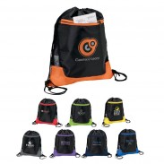 210D Poly Drawstring Closure Drawstrings Backpack