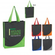 Promo Non-Woven Tote Bag With Accent Trim