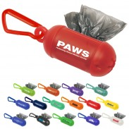 Doggy Bag Dispenser with Carabiner