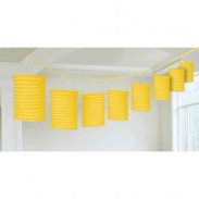 Promotional Beautiful Multicolor Lantern Garland with DIY LOGO-10inch