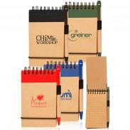 3 x 5 in. Eco Jotters with Pen