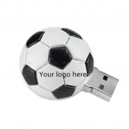 4GB Slicone USB Flash Drives-- Football