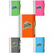 5.5 in x 7 in Recyclable Bright Eco Notebooks