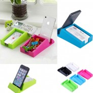 Hot Sales Desk Saving Name Card Storage Desktop Gadget Organizer Phone Holder