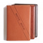Promotioanl Advanced Imitation Leather Business Notebook