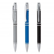 Custom Logo Promotional Aluminum Twist-Action Ballpoint Pen