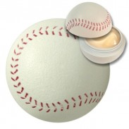 baseball shaped lipbalm