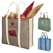Convenient Folds Down Shopper Tote Bag