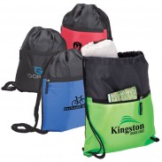 Customized Drawstrings Double Sportpack