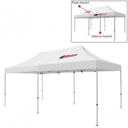 Deluxe 10 x 20 Ft Showstopper Tent (Full Color Print)