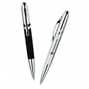 Luxury Office Promotional Diagonal Stripe Design Ballpoint Pen
