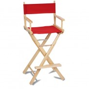 Directors Chair - Bar Height - Blank