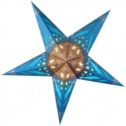 Promotional Paper Dolphins Star Lantern