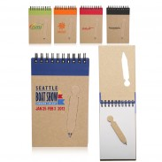 Eco Jotter with Die Cut Pen